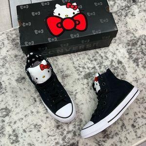 NIB Hello Kitty x Converse CTAS HI women's sneaker